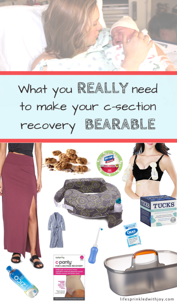 What you need after having a c-section
