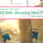 Increase Your Breastmilk Supply With This FREE Milk-Boosting Meal Plan
