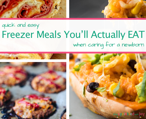 9 Freezer Meals You'll Actually Eat While Caring For A Newborn