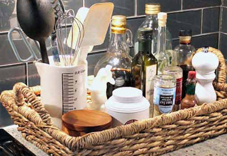 ideas to declutter kitchen counter