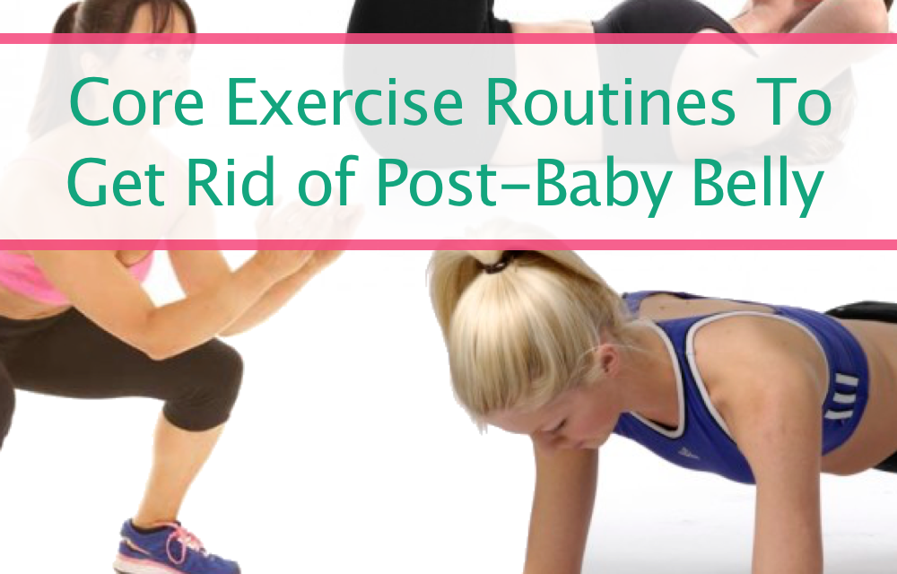 Best Stomach Exercises To Get Rid Of That Post Baby Belly FOR GOOD!