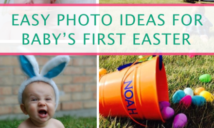 15 Easy Photo Ideas For Baby's First Easter