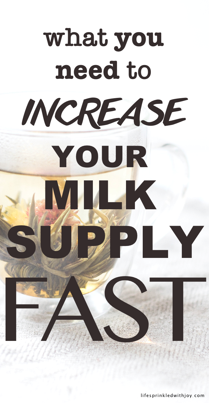 What You Need To Do To Increase Your Breast Milk Supply Fast!