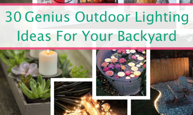 30 Genius Outdoor Lighting Ideas For Your Backyard That Won't Break The Bank