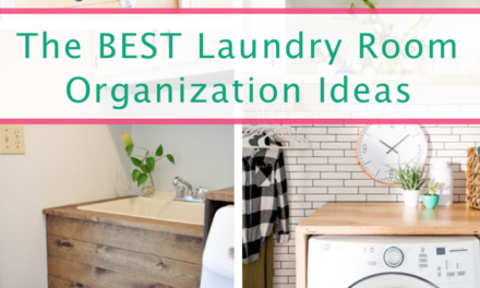41 CRAZY EASY Ideas For Organizing The Laundry Room