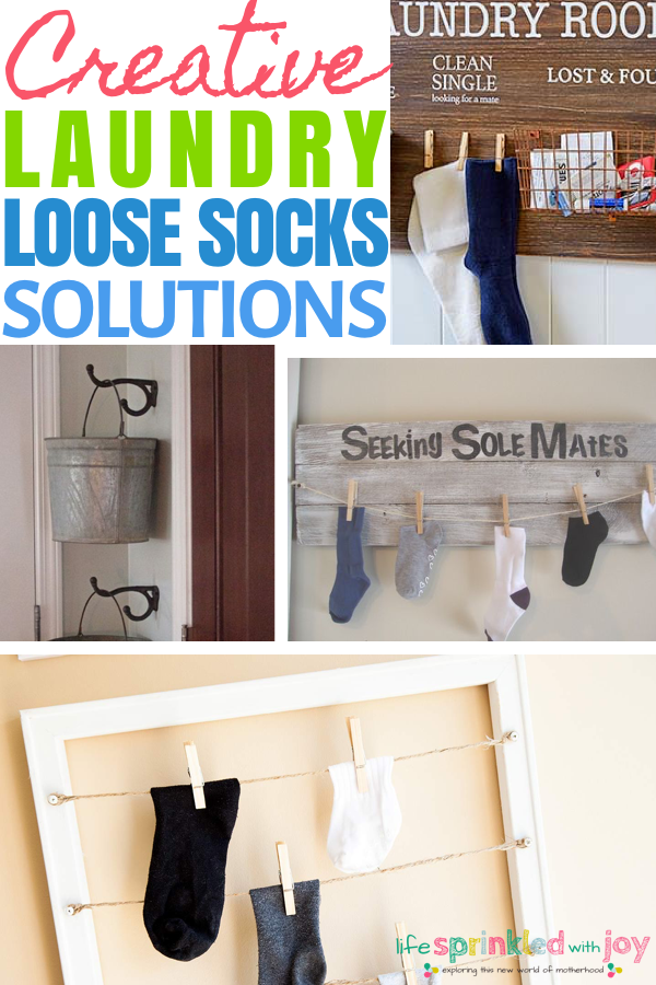 laundry room sock organization ideas