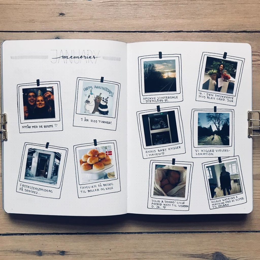 Make A Memory Book Add Pictures Of Cards Photos And Other Memories