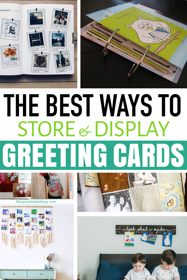 The best ways to store and display greeting cards life sprinkled the best ways to store and display greeting cards m4hsunfo