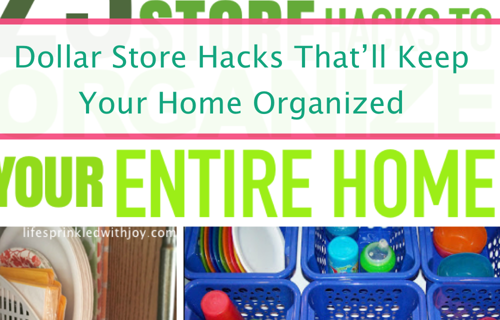 23 Of The Best Dollar Store Hacks To Organize Your Home