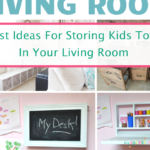 Best Toy Storage Solutions For The Living Room